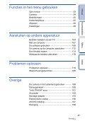 Sony NEX-5ND - NEX-5ND Consignes d'utilisation Néerlandais - Page 4