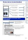 Sony NEX-5ND - NEX-5ND Consignes d'utilisation Norvégien - Page 2