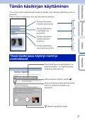 Sony NEX-5ND - NEX-5ND Consignes d'utilisation Finlandais - Page 2