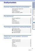 Sony NEX-5ND - NEX-5ND Consignes d'utilisation Finlandais - Page 3