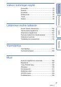 Sony NEX-5ND - NEX-5ND Consignes d'utilisation Finlandais - Page 4
