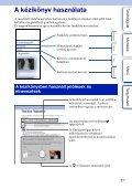 Sony NEX-5ND - NEX-5ND Consignes d'utilisation Hongrois - Page 2