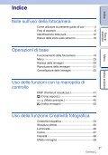 Sony NEX-5ND - NEX-5ND Consignes d'utilisation Italien - Page 3