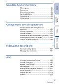 Sony NEX-5ND - NEX-5ND Consignes d'utilisation Italien - Page 4