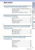 Sony NEX-5ND - NEX-5ND Consignes d'utilisation Polonais - Page 3