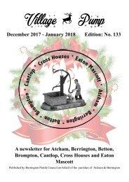 Berrington Village Pump Edition 133 (Dec17 - Jan18)