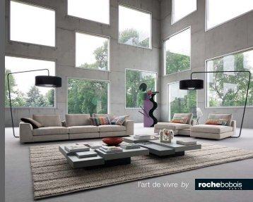 Catálogo de Sofás Diseño Roche Bobois 2017