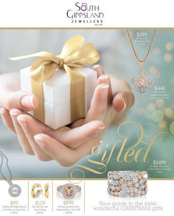 South Gippsland jewellers Christmas Catalogue