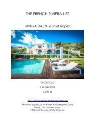 Riviera Breeze - Saint Tropez