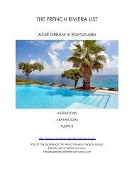 Azur Dream - Ramatuelle