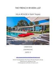 Villa Rouge - Saint Tropez