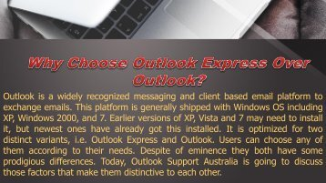Why Choose Outlook Express Over Outlook?