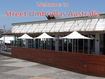 Buy Commercial Umbrellas for your Outdoor Area