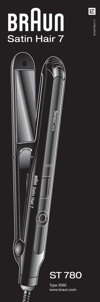 Braun ST780 - ST 780,  Satin Hair 7 Manual (DE, UK, FR, ES, PT, IT, NL, DK, NO, SE, FI, PL, CZ, SK, HU, HR, SL, TR, RO, MD, GR, BG, RU, UA, ARAB)