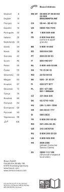 Braun ST780 - ST 780,  Satin Hair 7 Manual (DE, UK, FR, ES, PT, IT, NL, DK, NO, SE, FI, PL, CZ, SK, HU, HR, SL, TR, RO, MD, GR, BG, RU, UA, ARAB) - Page 2