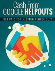 Google Helpouts Guide - How To Make Money With Google Helpouts