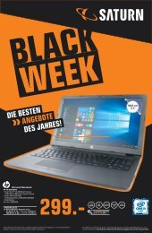 BLACK WEEK BEI SATURN IN ST. AUGUSTIN