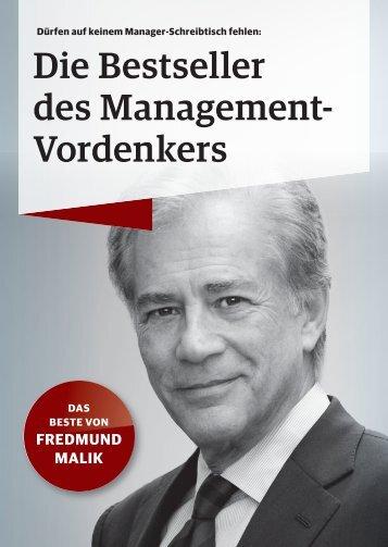 Die Bestseller des Management- Vordenkers - Campus