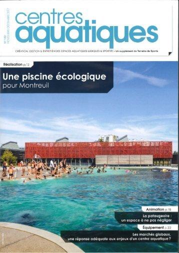 Une piscine écologique pour Montreuil