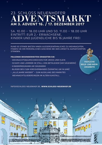Adventsmarktflyer 2017