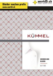 Kümmel Hemden - werk5 / 2018-2019