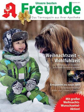 "Leseprobe ""Unsere besten Freunde"" Dezember 2017"