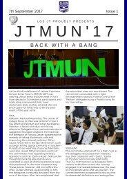 JTMUN Newsletter Day 1