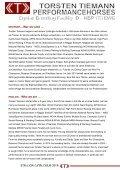 Torsten Tiemann Stallion Catalogue 2018 - Page 2