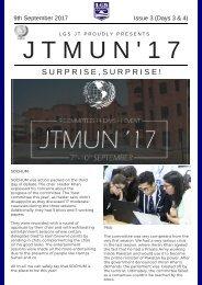 JTMUN Newsletter Day 3