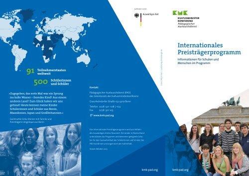 Internationales Preisträgerprogramm