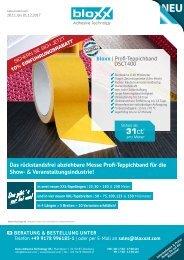 Aktion-11.2017 bloxx Profi-Teppichband DSCT400