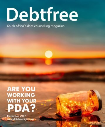 Debtfree Magazine November 2017