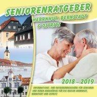 Seniorenratgeber Herrnhut, Bernstadt & Ostritz 2017-2019
