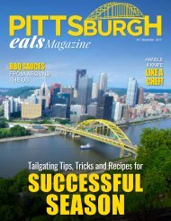 Pittsburgh Eats Magazine First Edition