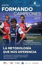 Revista Formando Campeones 2017