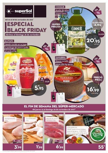 Supersol Muebles De Jardin.Folleto Supersol Supermercados Especial Black Friday Del 22