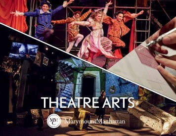 Theatre Arts Divisional Brochure 2017–18