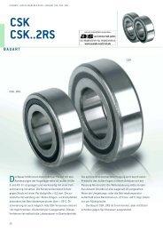 CSK CSK..2RS - Stieber