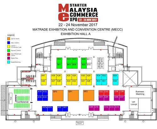 Mstarter Me Expo 2017 Floor Plan Hall A 11 7 2017 Revised New