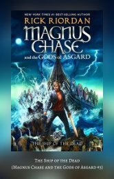 The Ship of the Dead (Magnus Chase and the Gods of Asgard #3)