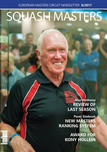 ESF Masters Newsletter X/2017