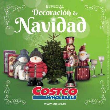 Costco Especial Decoración de Navidad