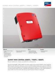 Sunny MINI CENTRAL 6000TL / 7000TL / 8000TL -  BAUER ...