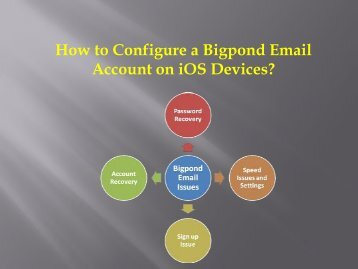 How to Configure a Bigpond Email Account on iOS Devices?