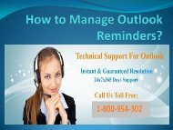 How to Manage Outlook Reminders
