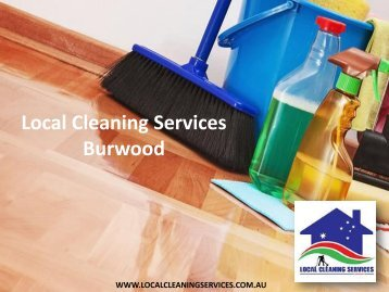 Local Cleaning Services Burwood