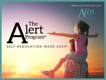 The Alert Program – The Best Self-Regulation Program Online