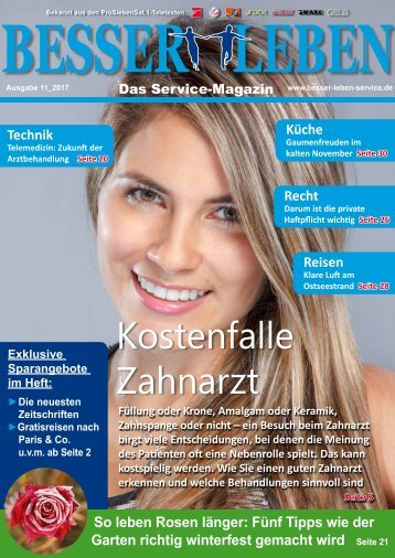 Besser Leben Service-Magazin _ November 2017