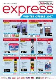 Express Winter Offers 2017