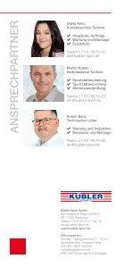 Wartung & Inspektion Kübler Sport - Page 6